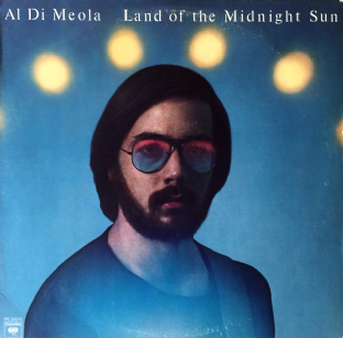 Al Di Meola - Land Of The Midnight Sun (LP) (EX/VG)